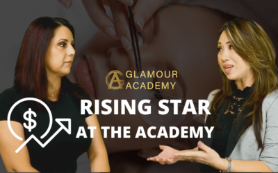 RISING STUDENT AT GLAMOUR ACADEMY.