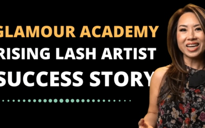 Glamour Academy Rising Star Success Story in Eyelash Extensions and PMU