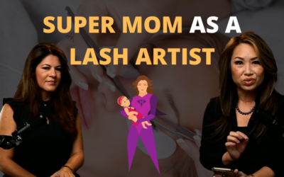 Mother of Special Needs Children As A Lash Artist