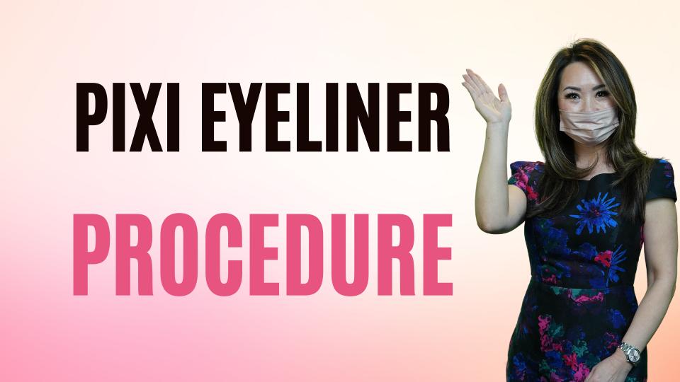 Pixi Eyeliner Procedure