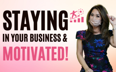 How To Stay Motivated In Lash & Brows Business